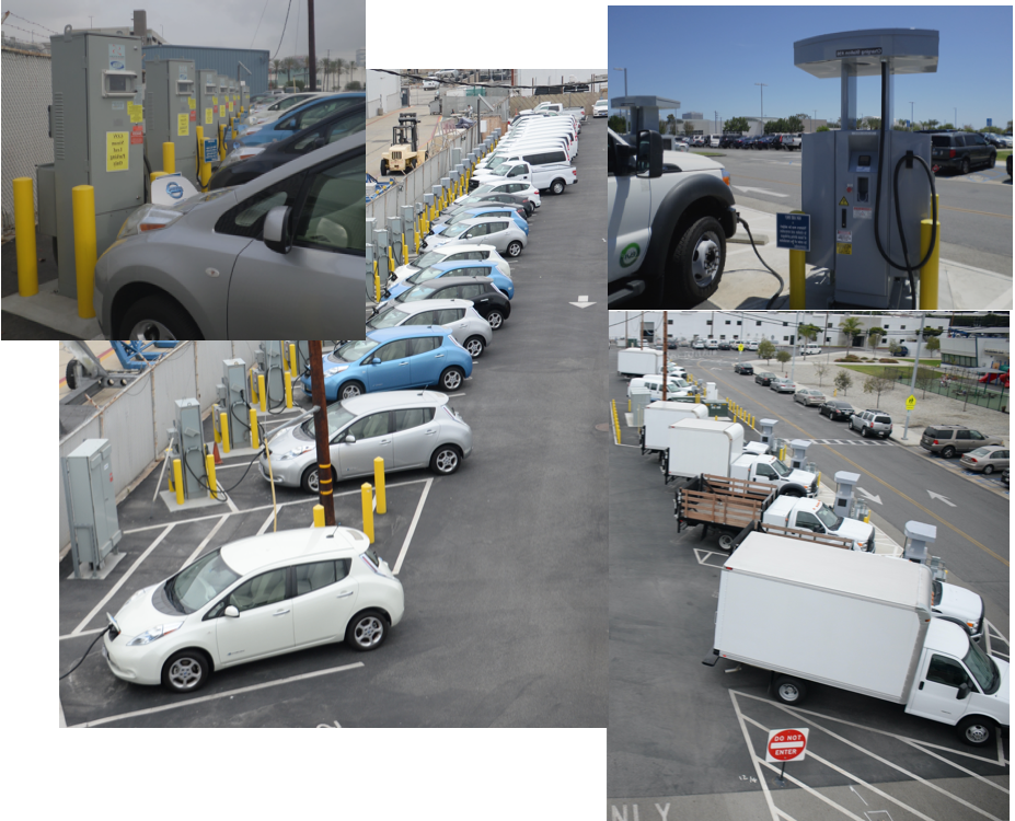 Images of Vehicles Charging